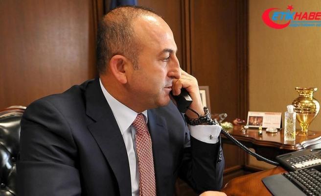 Çavuşoğlu Ürdünlü mevkidaşıyla telefonda görüştü