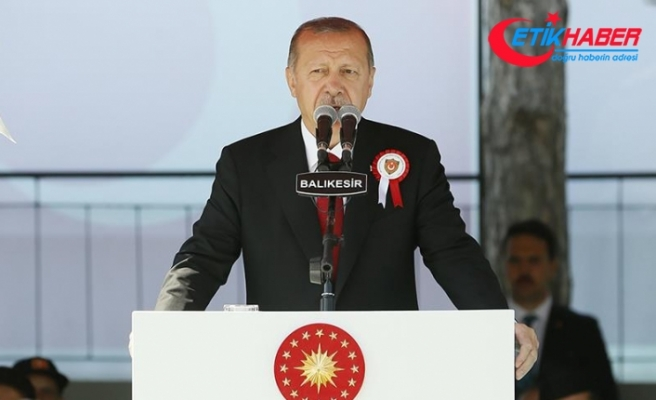 Cumhurbaşkanı Erdoğan: Biz bu orduyla 7 düveli önümüze katar cehenneme kovalarız