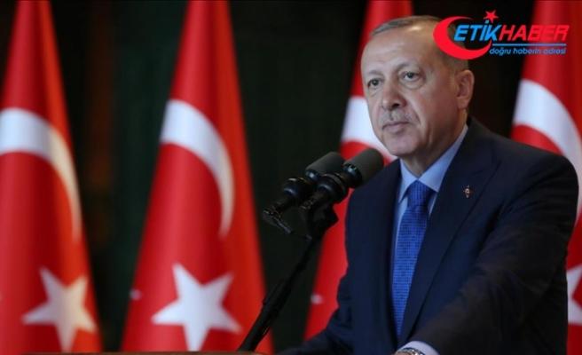 Cumhurbaşkanı Erdoğan'dan Zafer Bayramı mesajı