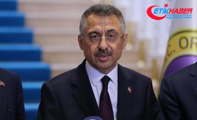 Cumhurbaşkanı Yardımcısı Oktay: Ordu'da can kaybımız yok, 66 konut zarar gördü