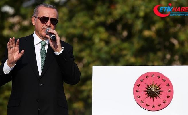 Cumhurbaşkanı Erdoğan: ABD'yi hukuka davet ediyoruz