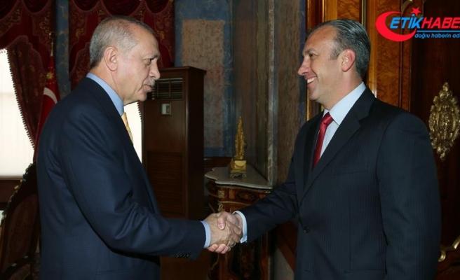 Cumhurbaşkanı Erdoğan, Aissami'yi kabul etti
