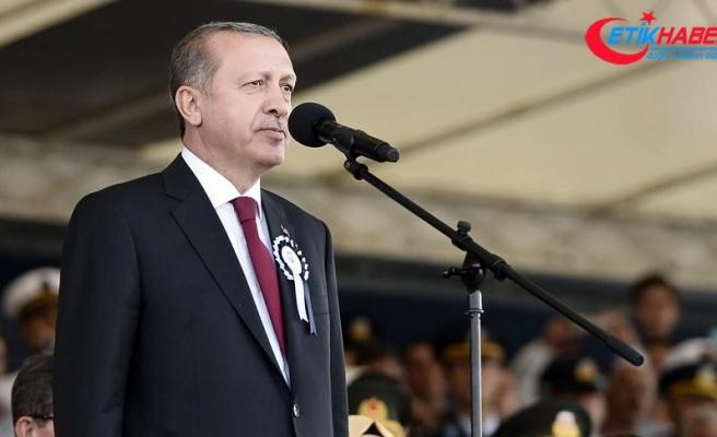 Cumhurbaşkanı Erdoğan: Ordumuzun yerli ve milli vasfını güçlendireceğiz