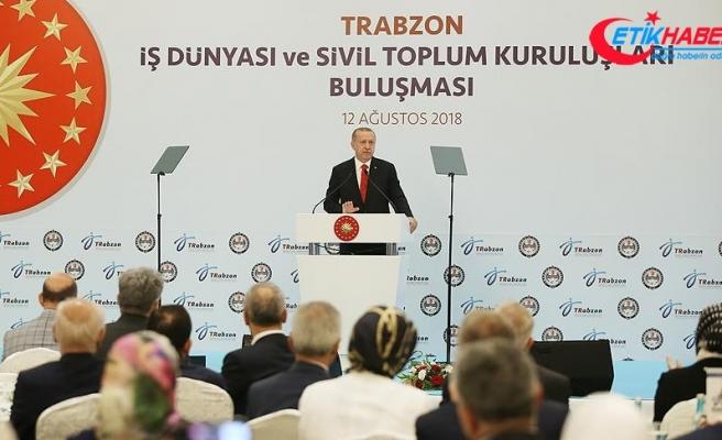 Cumhurbaşkanı Erdoğan: Türkiye'yi tehdit etmek kimsenin haddi değil