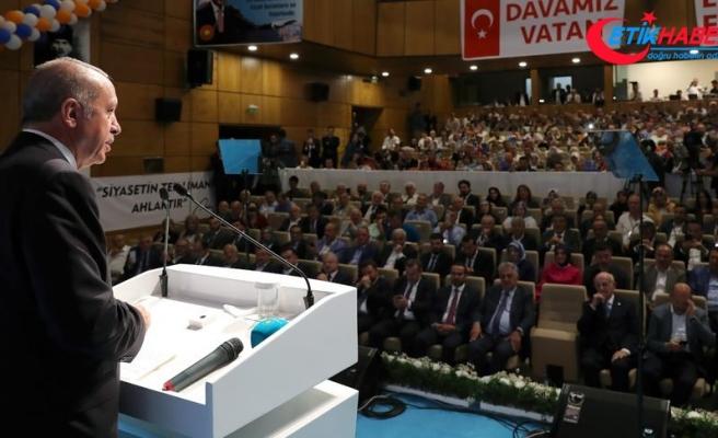 Cumhurbaşkanı Erdoğan: Yaptırım tehdidiyle ülkeleri haraca bağlayan düzeni kabul etmiyoruz