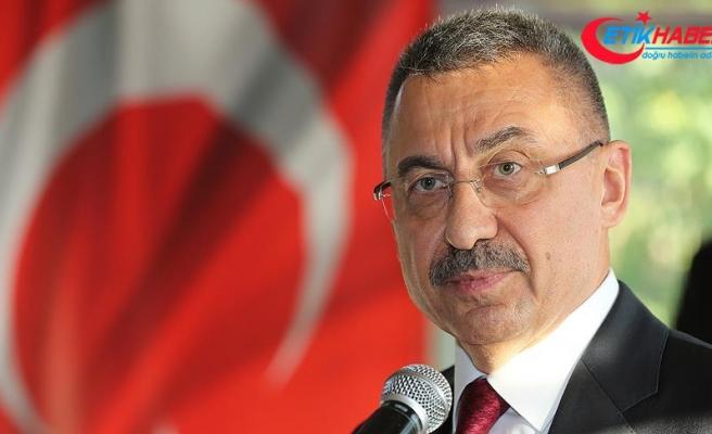 Cumhurbaşkanı Yardımcısı Oktay'dan taziye mesajı