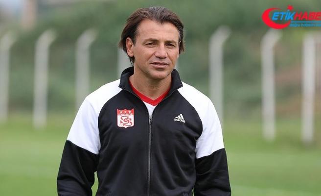 Demir Grup Sivasspor Teknik Direktörü Tuna: Ligde iyi bir iz bırakmak istiyoruz