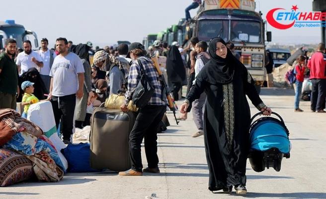 Dera'dan zorunlu tahliye edilenlerin sayısı 3 bin 300'ü geçti