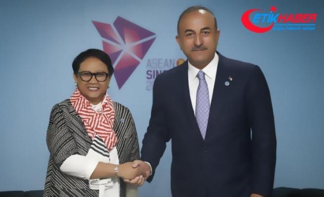 Dışişleri Bakanı Çavuşoğlu Singapur'da