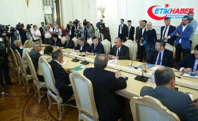 Dışişleri Bakanı Çavuşoğlu: Türkiye-Rusya ilişkileri bölge istikrarı için önemli