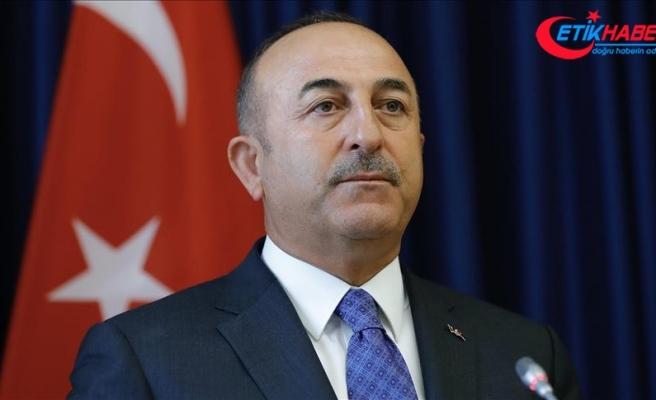 Dışişleri Bakanı Çavuşoğlu: Siyasi engeller çıkarılmasını istemiyoruz
