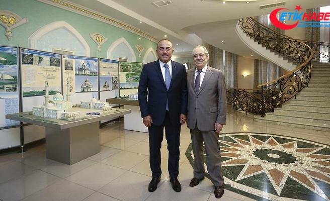 Dışişleri Bakanı Çavuşoğlu Tataristan'da