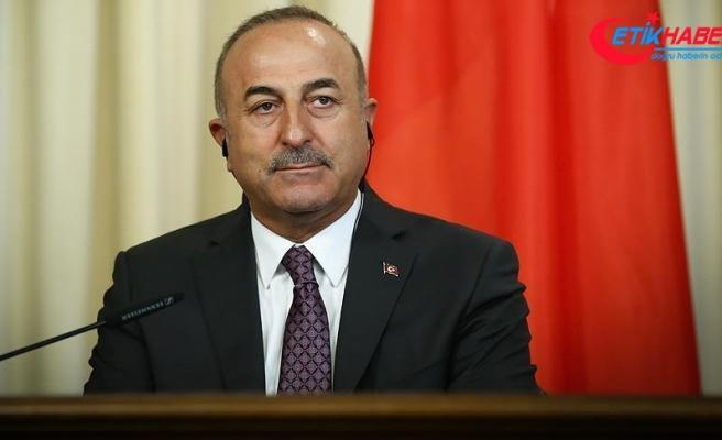 Dışişleri Bakanı Çavuşoğlu: Türkiye'nin dış politikası denge gözetmektedir