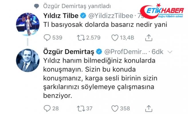 """""""Dolar Basalım"""" Diyen Yıldız Tilbe'ye İlk Cevap Profesör Özgür Demirtaş'tan Geldi"""