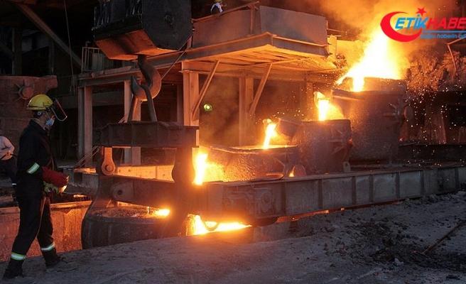Dünya çelik üretimi temmuzda yüzde 5,8 arttı