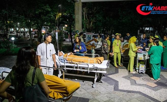 Endonezya'da 7 büyüklüğünde deprem: En az 3 kişi öldü