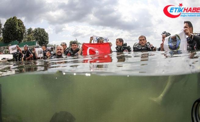 Engellilerden '30 Ağustos zafer dalışı'