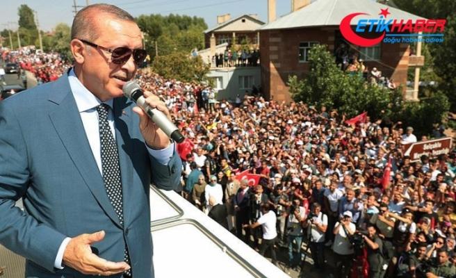 Erdoğan: Çok daha farklı bir şekilde 2071'e yürüyeceğiz