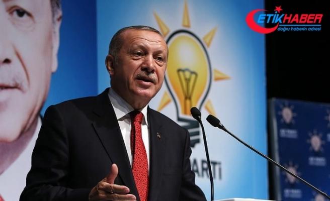 Erdoğan: Yaptırım tehdidiyle ülkeleri haraca bağlayan düzeni kabul etmiyoruz