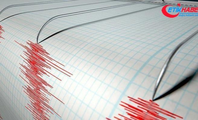 Fiji'de 8,2 büyüklüğünde deprem