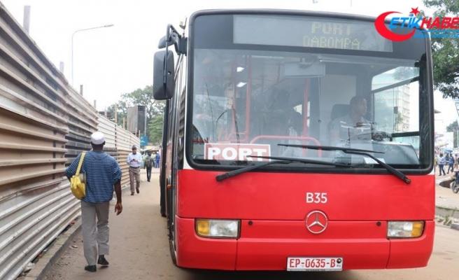 Gine'de toplu taşıma Türkiye'ye emanet