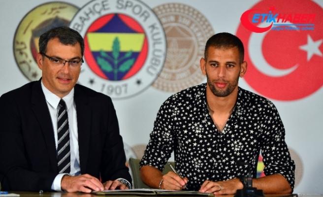 Islam Slimani imzayı attı
