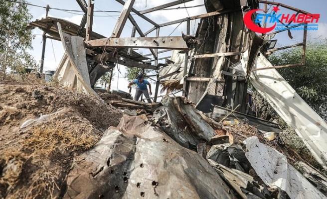 İsrail'den Gazze'ye saldırı: 2 şehit