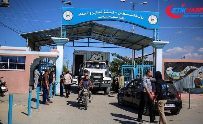 İsrail Gazze'yle arasındaki Beyt Hanun sınır kapısını kapattı