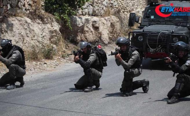 İsrail güçlerinden Batı Şeria'daki gösterilere müdahale