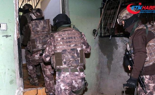İstanbul'da terör örgütü PKK'ya yönelik operasyon: 9 gözaltı