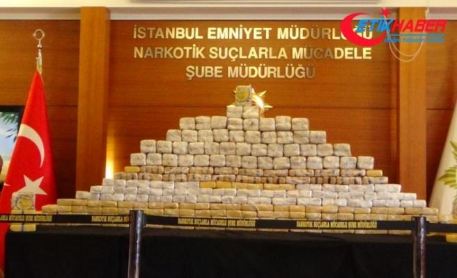 İstanbul'da 181 kilo eroin yakalandı: 11 gözaltı