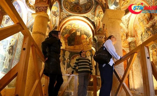 Kapadokya'daki müzeleri temmuzda 310 bin kişi ziyaret etti