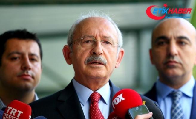 Kılıçdaroğlu: ABD'nin iki bakanla ilgili kararını doğru bulmuyoruz