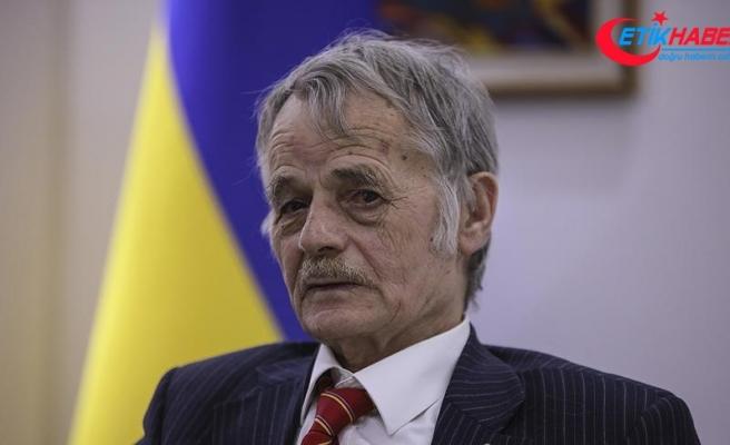 Kırım Tatar liderine özgürlük nişanı