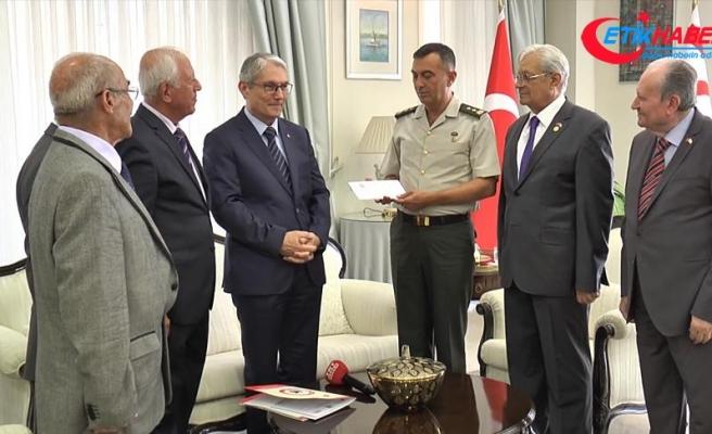 KKTC'den Afrin şehitlerine destek