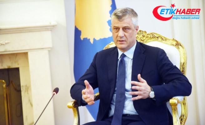 Kosova Cumhurbaşkanı'ndan skandal olaya tepki