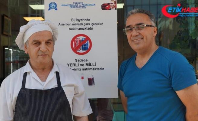 Lokantacılar ve Pastacılar Federasyonundan ABD ürünlerine boykot