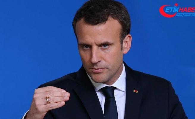 Macron'dan 'Suriye' açıklaması