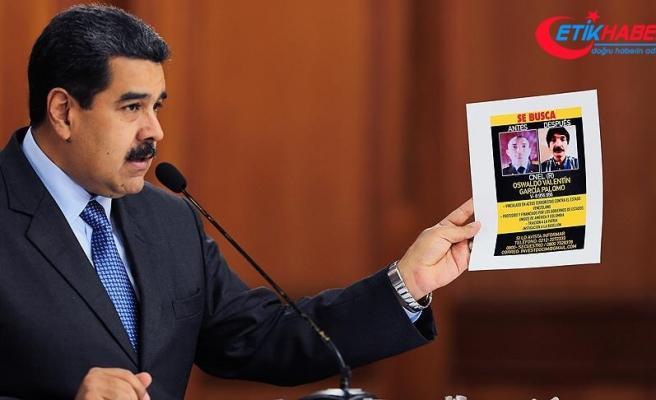 Maduro suikast girişiminden muhalefeti sorumlu tuttu