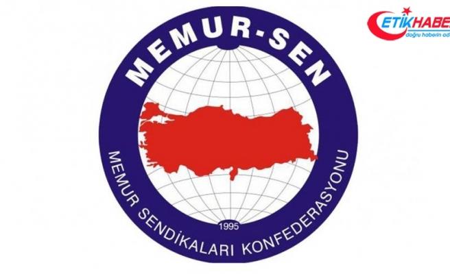 Memur-Sen: Tek yol devlet ve millet birlikteliğini güçlendirmek
