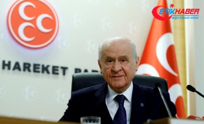 MHP Lideri Bahçeli: 1915'de Çanakkale'yi geçemediler, 2018'de de Ankara'yı geçemeyecekler
