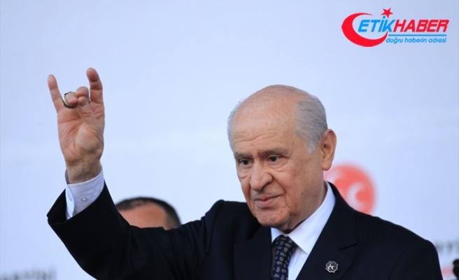 MHP Lideri Bahçeli: Partilerin üstünde memleketi düşünmek mecburiyetindesiniz