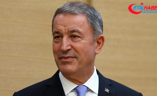 Milli Savunma Bakanı Akar: Her türlü tehdit ve tehlikeye karşı mücadelemizi sürdürüyoruz