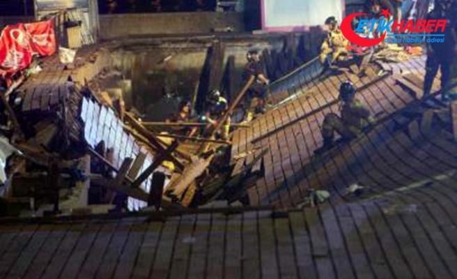 Müzik festivalinde platform çöktü: 266 yaralı