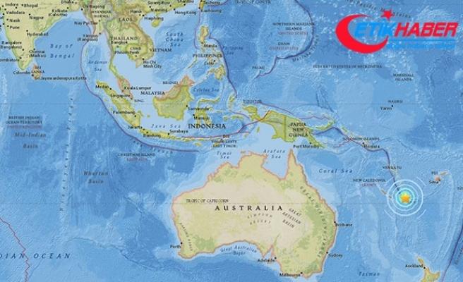 Pasifik adası Yeni Kaledonya'da 7.1 büyüklüğünde deprem