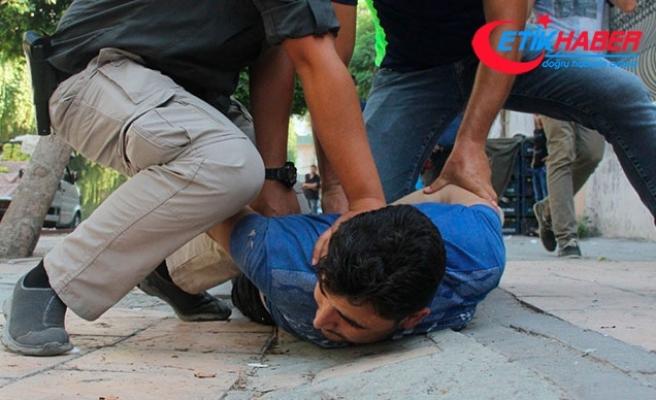 Polis uygulamasından kaçan Suriyeliler kovalamaca sonucu yakaladı