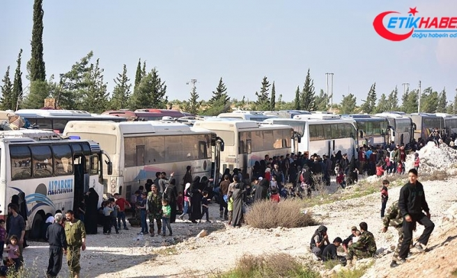 Suriye'de Esed rejimi 140 günde 129 bin kişiyi yerinden etti