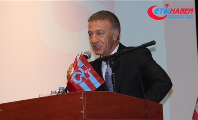 Trabzonspor Kulübü Başkanı Ağaoğlu: Beşiktaş, Trabzonspor'a resmi bir teklif yapmadı
