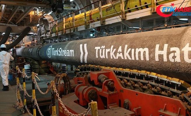 TürkAkım'da rekor hız