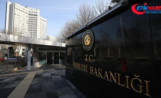 Türkiye'den ABD'nin Türk bakanlara yaptırım kararına tepki